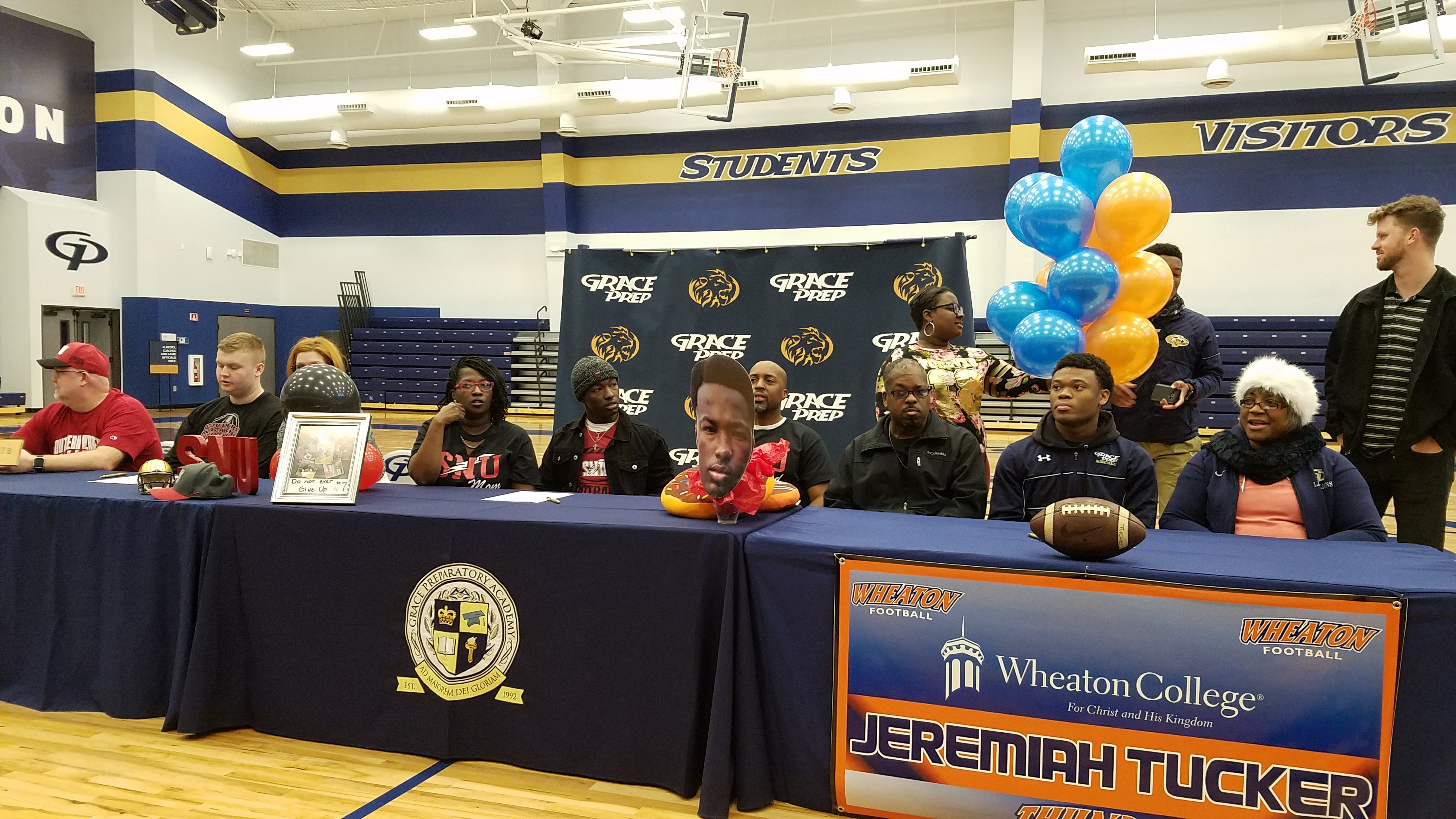 Trio of Football Players Sign Letters of Intent