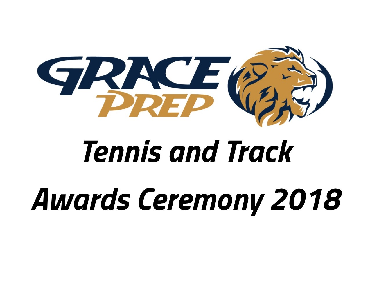 Tennis and Track Awards Ceremony