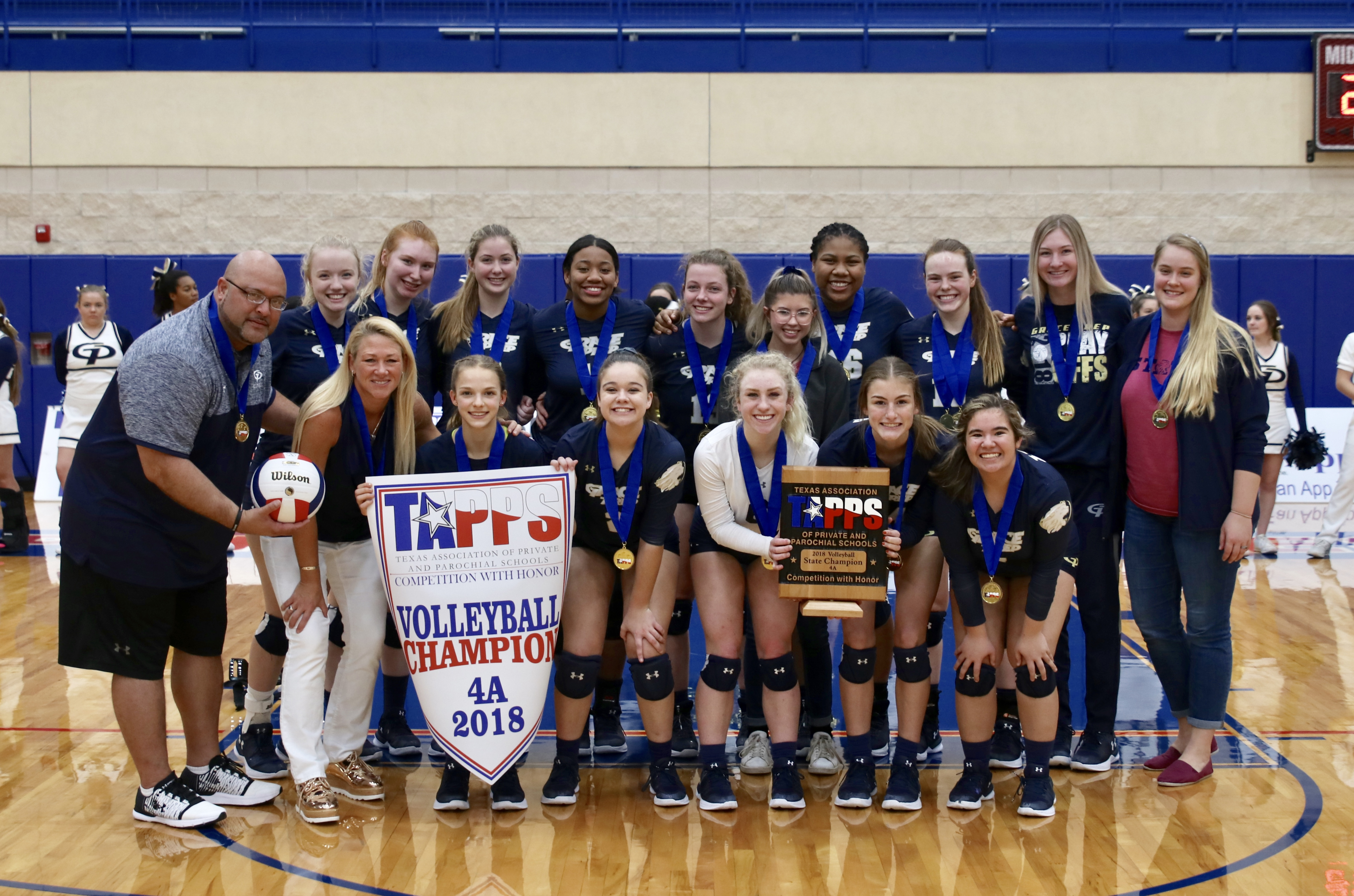 Lion Volleyball – State Champions!