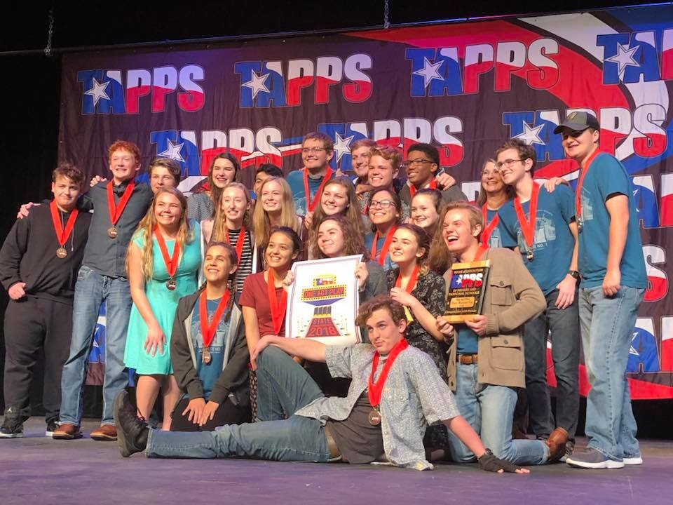 """""""Lafayette No. 1"""" Takes Second in State One Act Play Contest"""