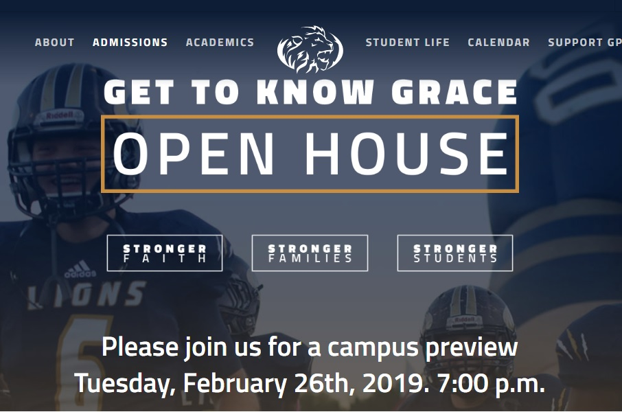 """Get to Know Grace"" Night is February 26"