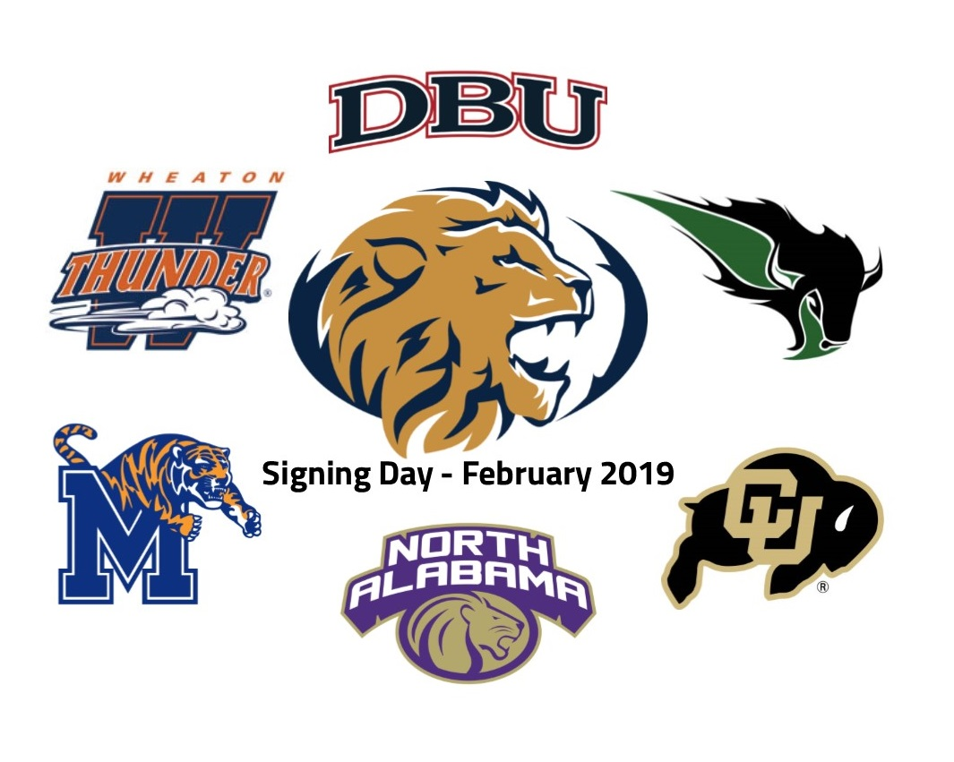 Six Ink Letters on Signing Day