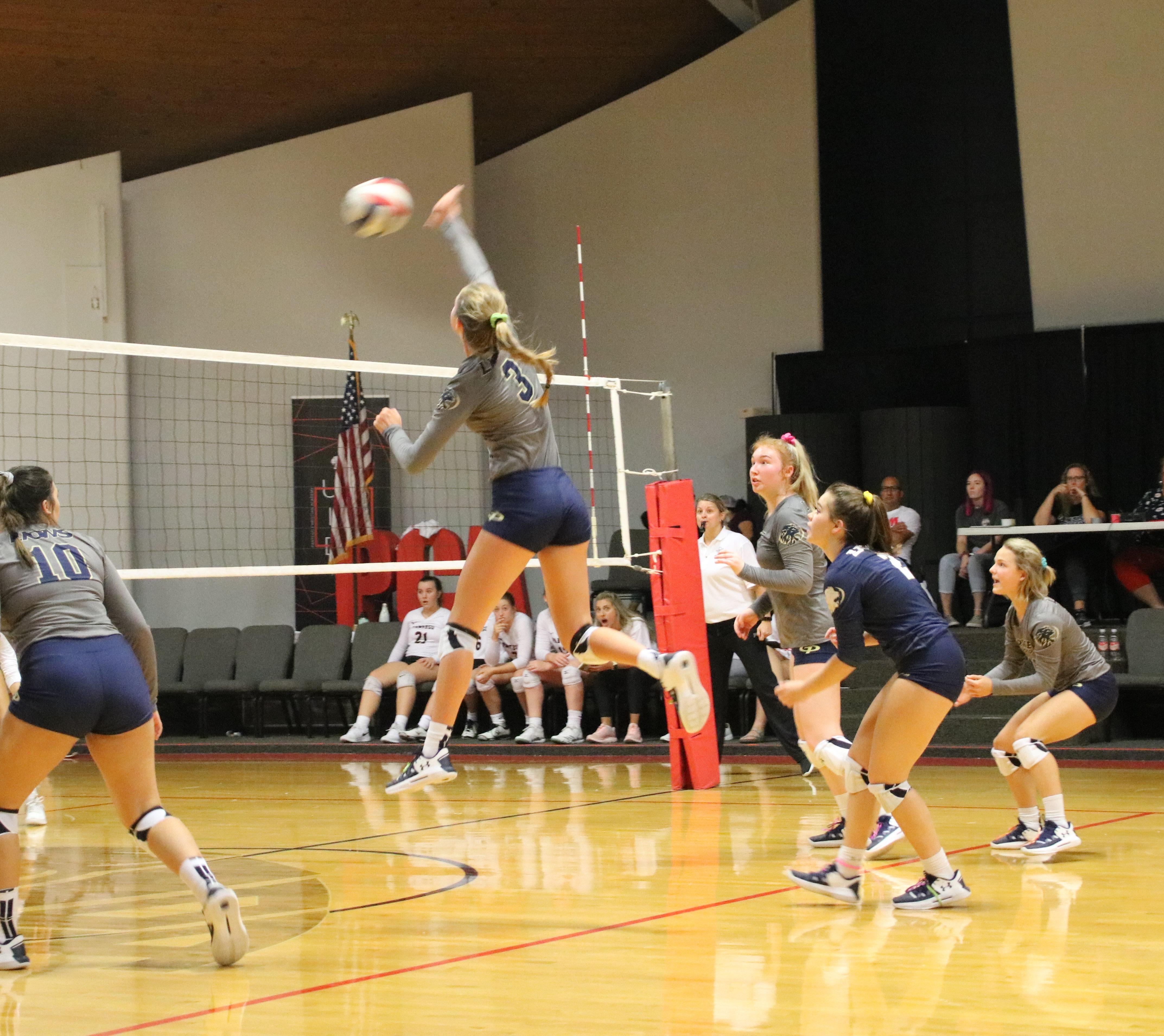 Varsity Volleyball Takes on Prestonwood Christian Tonight