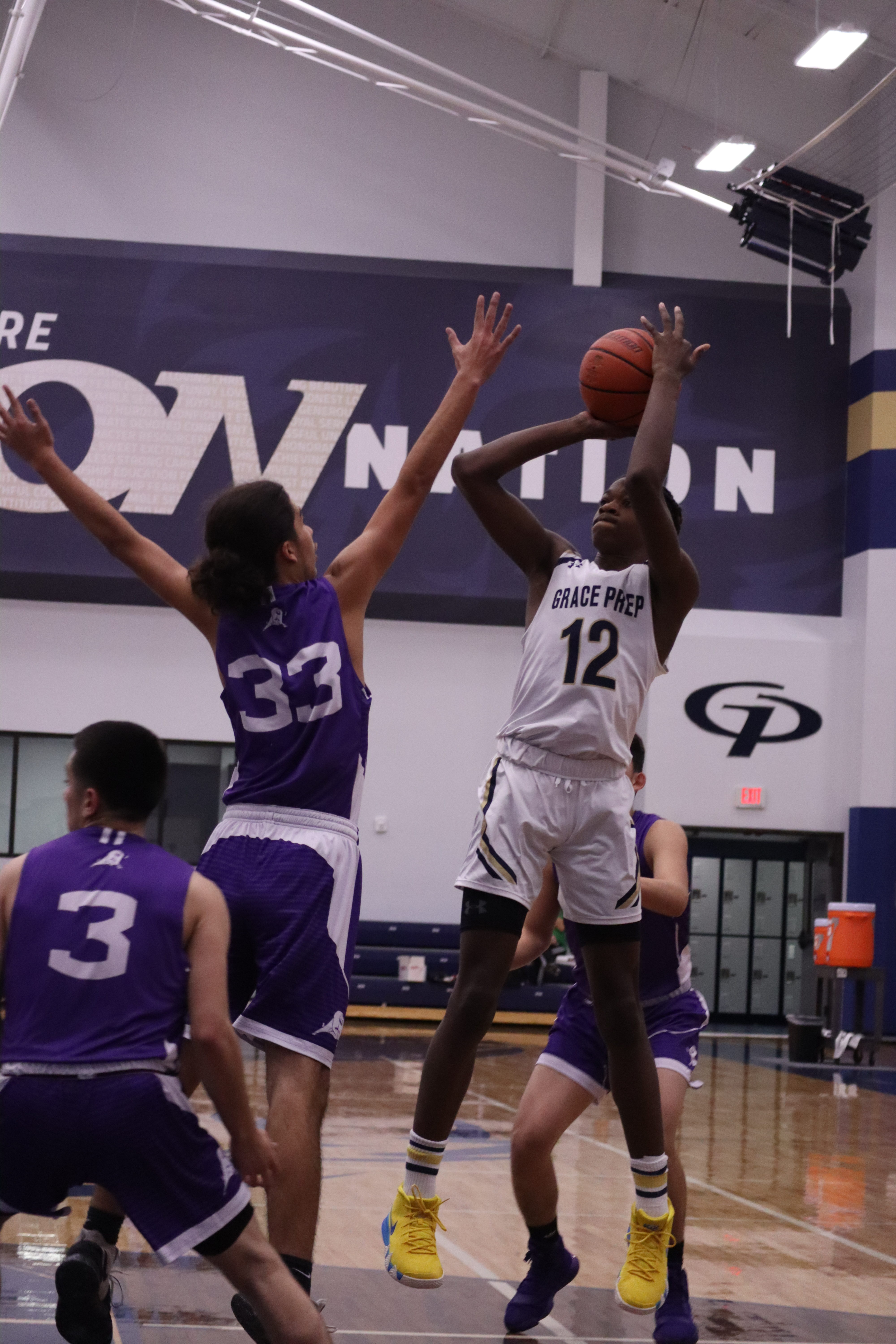 Varsity Boys Basketball Hosts Cristo Rey Monday